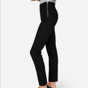 Everlane Black Stretch Ponte Skinny Pants Size 6